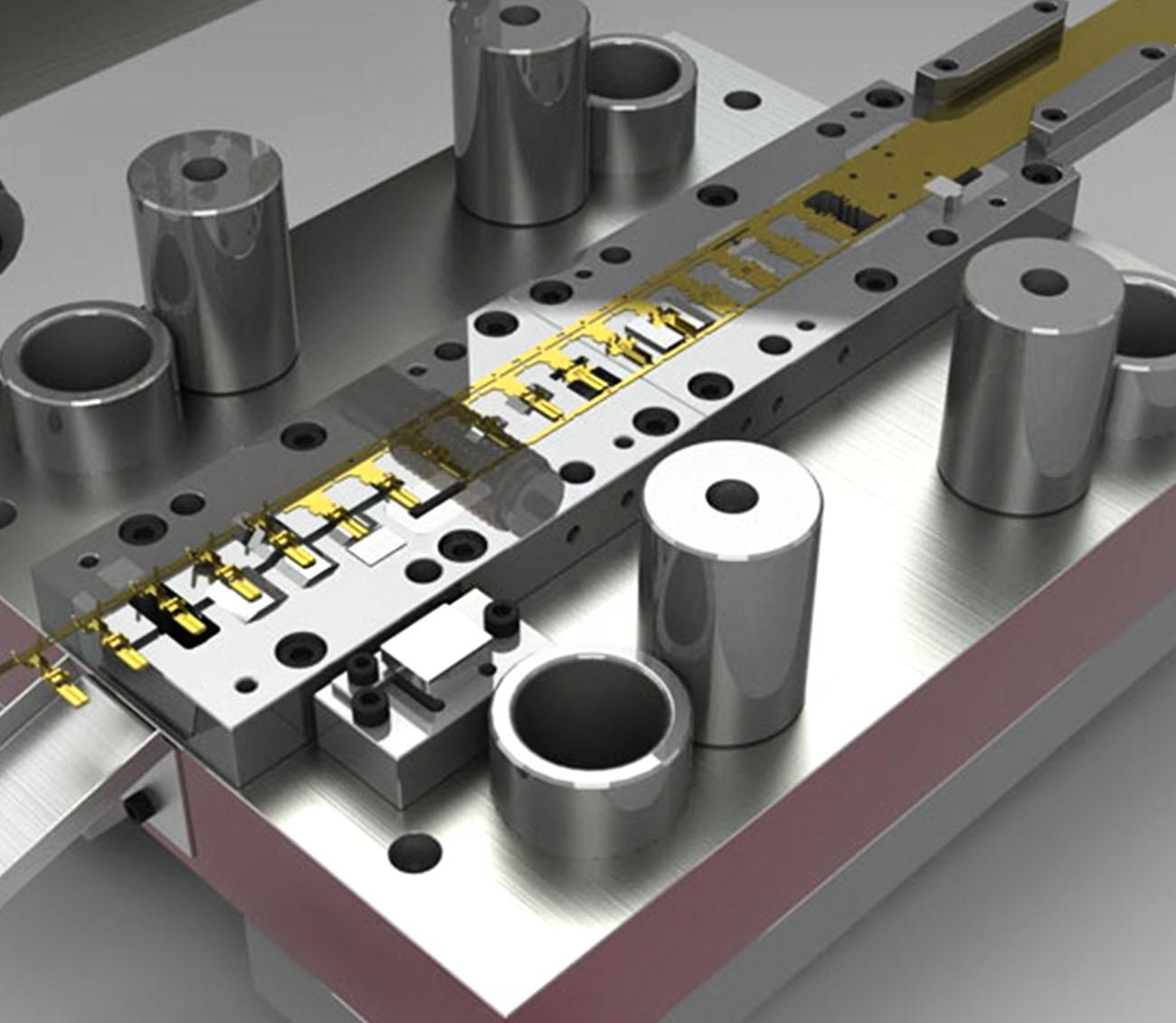 Constru��o de ferramentas de corte, dobra e repuxo em geral